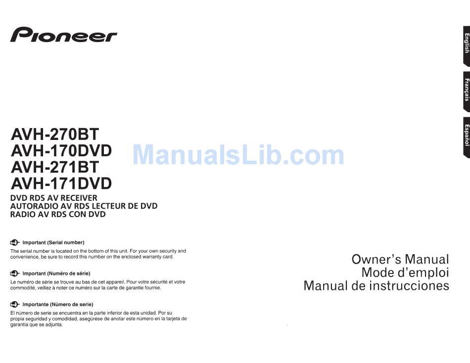 Pioneer Avh-110Bt Wiring Diagram from static-data2.manualslib.com