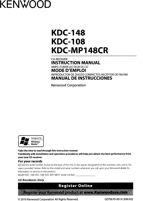 Kenwood Kdc 108 Wiring Diagram from static-data2.manualslib.com