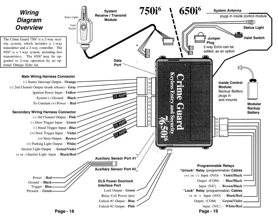 Crime Guard 650i6 Installation Instructions Manual Pdf Download Manualslib