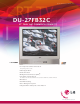 LG DU-27FB32C Specification Sheet