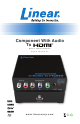 Linear COMP-2-HDMI-AD User Manual