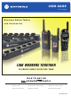 Motorola Business Walkie-Talkies and Accessories User Manual
