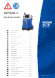 Nilfisk-ALTO NEPTUNE NEPTUNE 2 Quick Start Manual