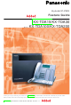 Panasonic KX-TDA100 Features Manual