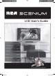 RCA Scenium L26WD14 User Manual