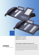 Siemens optiPoint 410 S Specification Sheet