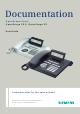 Siemens OPENSTAGE 20 2000 User Manual