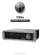 SWR SWR 750x Bass Amplifier 750x Owner's Manual