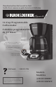 Black & Decker DLX1050BC Use And Care Book Manual