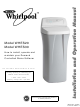 Whirlpool WHES20 Installation And Operation Manual
