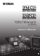 Yamaha DSP5D Owner's Manual