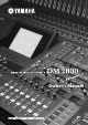 Yamaha DM2000 Owner's Manual