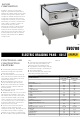 Zanussi EVO700 Technical Data