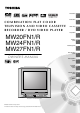 Toshiba MW20FN1 Owner's Manual