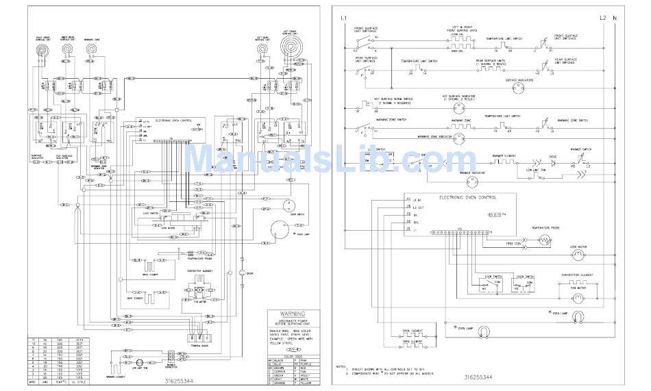 Frigidaire Fefl89ccb Wiring Diagram Pdf Download
