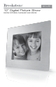 Brookstone - Digital Photo Frame