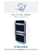 Electrolux E30EW85GSS Use & Care Manual