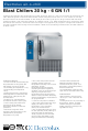 Electrolux Air-O-Chill 6 GN 1/1 Specifications