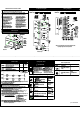 Frigidaire 316495069 Technical Sheet