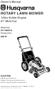 Husqvarna ROTARY LAWN MOWER 917.38451 Owner's Manual