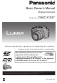 Panasonic Lumix DMC-FZ47 Basic Owner's Manual