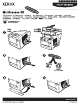 Xerox Phaser 8510MFP Supplementary Manual