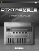 Yamaha DTXTREME IIs Owner's Manual