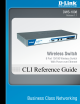 D-link DWS-1008 Cli Reference Manual