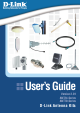 D-Link ANT24-1500 - 5.4 ft Antenna User Manual