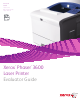 Xerox 3600DN - Phaser B/W Laser Printer Evaluator Manual