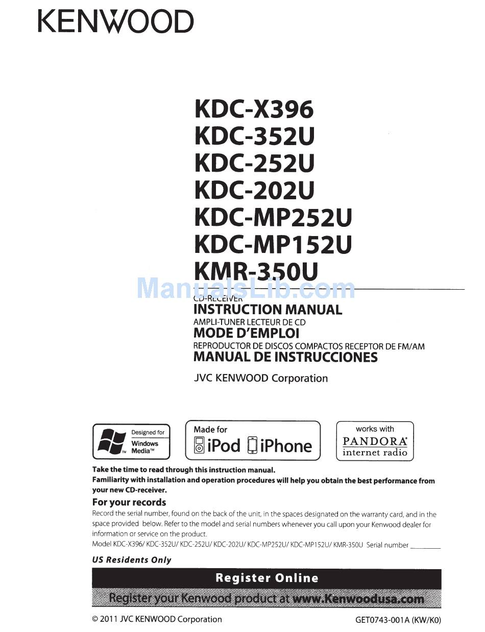 Kdc 252u Wiring Diagram