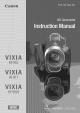 CANON VIXIA HFR11 Instruction Manual