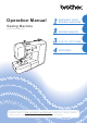 Brother XR1300 Operation Manual