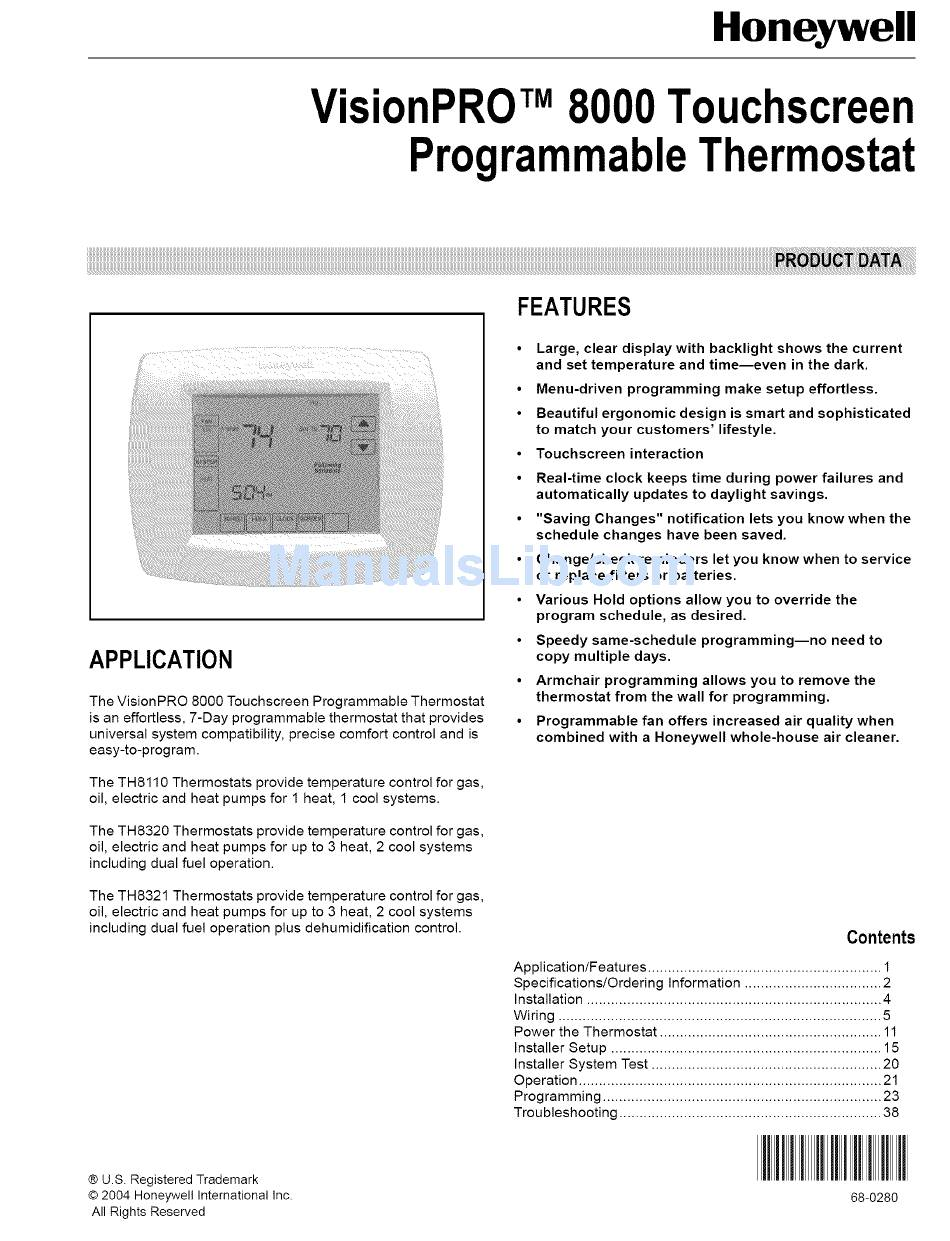 Honeywell Thermostat Wiring Diagram Pdf from static-data2.manualslib.com