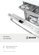 Bosch SHE65T52UC Operating Instructions Manual