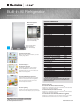 Electrolux Built-In All Refrigerator E32AR75JPS Specifications