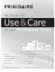 Frigidaire Microwave Oven Use & Care Manual
