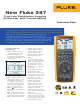Fluke 287 Specifications