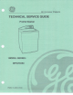 GE WPGT9350 Technical Service Manual