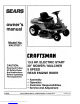Craftsman 536.270320 - 13.5 HP 30 in. Deck Owner's Manual
