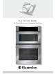 "Electrolux 30"" Electric/Microwave Combination Wall Oven Use & Care Manual"