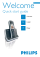 Philips SE730 Quick Start Manual