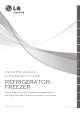 LG REFRIGERATOR- FREEZER Owner's Manual