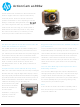 HP Action Cam ac200w Datasheet
