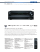 Onkyo TX-SR313 Features & Specifications