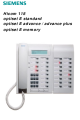 Siemens Hicom 118 User Manual