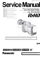 Panasonic AG-HPX500 Service Manual