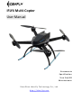 Idea-fly IFLY4 Multi-Copter User Manual