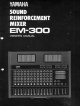 Yamaha EM-300 Owner's Manual