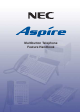 NEC Aspire Feature Handbook